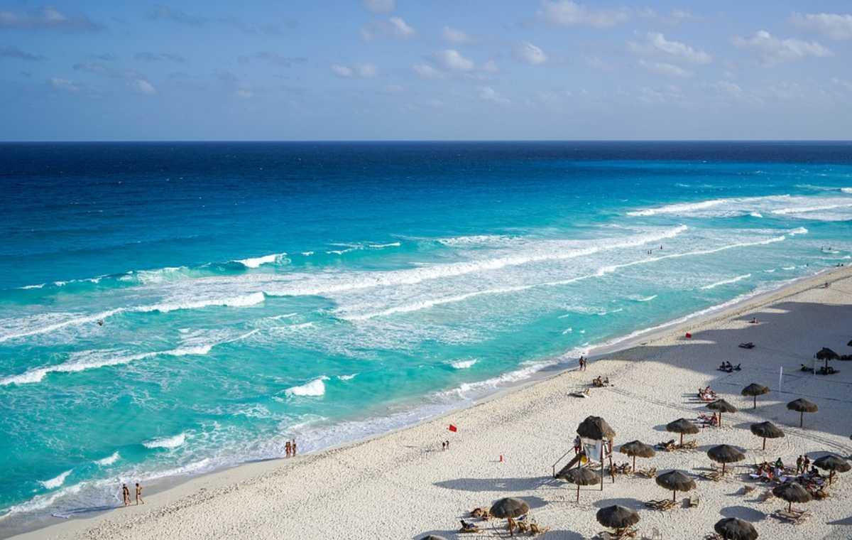 Meksiko plaža
